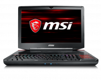 "Ноутбук GT83 Titan 8RF-006RU 18.4""(1920x1080 (матовый))/Intel Core i7 8850H(2.6Ghz)/32768Mb/1000+2x256SSDGb/B-Ray Writer/Ext:nVidia GeForce Dual GTX1070(16384Mb)/Cam/BT/WiFi/75WHr/war 2y/4.5kg/black/W10"