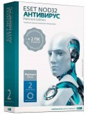 ПО ESET NOD32 Антивирус Platinum Edition - лицензия на 2 года на 3ПК, BOX (NOD32-ENA-NS(BOX)-2-1)