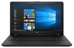 "Ноутбук HP 15-rb011ur E2 9000e/ 4Gb/ 500Gb/ DVD-RW/ AMD Radeon R2/ 15.6""/ SVA/ HD (1366x768)/ Windows 10/ black/ WiFi/ BT/ Cam"