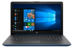 "Ноутбук HP 15-db0206ur A4 9125/ 4Gb/ 500Gb/ DVD-RW/ AMD Radeon R3/ 15.6""/ SVA/ HD (1366x768)/ Windows 10/ blue/ WiFi/ BT/ Cam"