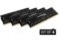 Модуль памяти Kingston 64Gb (4x16Gb) 3600MHz DDR4 HyperX Predator (HX436C17PB3K4/64)