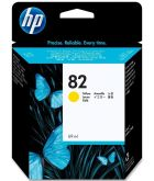 Картридж HP 82 Yellow для Designjet 500/ 500ps/ 510/ 800/ 800ps/ copier cc800ps/ 815mfp 69-ml