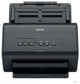 Сканер Brother ADS-3000N (ADS3000NUX1) A4 черный