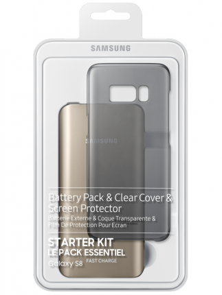 Набор Samsung Starter Kit S8 (with PowerBank) черный для Galaxy S8
