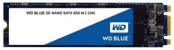 Накопитель SSD WD M.2 2280 500Gb TLC BLUE WDS500G2B0B