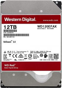 Жесткий диск WD Red SATA-III 12Tb 6Gb/s 256Mb WD120EFAX