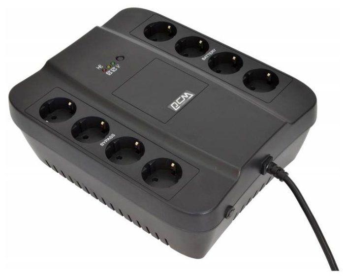 ИБП Powercom Spider SPD-1000N 550Вт 1000ВА черный 332717