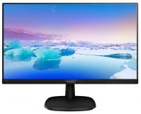 "Монитор Philips 23.8"" 243V7QDAB (00/01) черный IPS LED 16:9 DVI HDMI M/M матовая 250cd 1920x1080 D-Sub FHD 3.5кг"