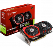 Видеокарта MSI GTX 1050 Ti GAMING X 4G, NVIDIA GeForce GTX 1050 Ti, 4Gb GDDR5