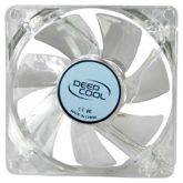 Вентилятор Deepcool XFAN 80L/B 80x80x25mm 3-pin 20dB 60gr LED Ret