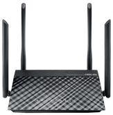 Wi-Fi роутер Asus RT-AC1200 10/100BASE-TX черный