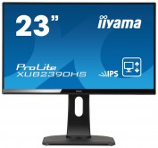 "Монитор Iiyama 23"" XUB2390HS-B1 черный AH-IPS LED 5ms 16:9 DVI HDMI M/M матовая HAS Pivot 1000:1 250cd 160гр/160гр 1080x1920 D-Sub 4кг"