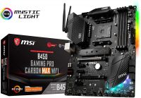 Материнская плата MSI B450 GAMING PRO CARBON MAX WIFI, AMD B450, sAM4, ATX