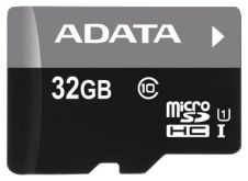 Карта памяти A-DATA 32GB microSDHC class10 UI with SD adapter
