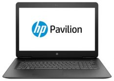 "Ноутбук HP Pavilion Gaming 17-ab318ur 17.3""(1920x1080)/ Intel Core i7 7700HQ(2.8Ghz)/ 8192Mb/ 1000Gb/ DVDrw/ NVIDIA GeForce GTX 1050Ti(4096Mb)/ Cam/ BT/ WiFi/ 62WHr/ war 1y/ 2.85kg/ Shadow Black/ W10"