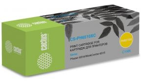 Картридж Cactus 106R03693 CS-PH6510XC голубой (4300стр.) для Xerox Phaser 6510/WC6515