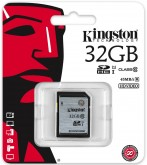 Карта памяти Kingston SDHC 32Gb Class10 UHS-I (SD10VG2/32GB)