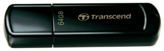 Флешка Transcend 64Gb Jetflash 350 TS64GJF350 USB2.0 черный