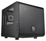 Корпус Thermaltake Core V1 CA-1B8-00S черный w/o PSU miniITX 1x200mm 2xUSB3.0 audio bott PSU
