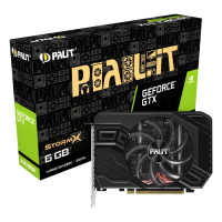 Видеокарта Palit PA-GTX1660SUPER StormX 6G, NVIDIA GeForce GTX 1660 SUPER, 6Gb GDDR6