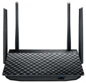 Wi-Fi роутер Asus RT-AC58U 10/100/1000BASE-TX черный